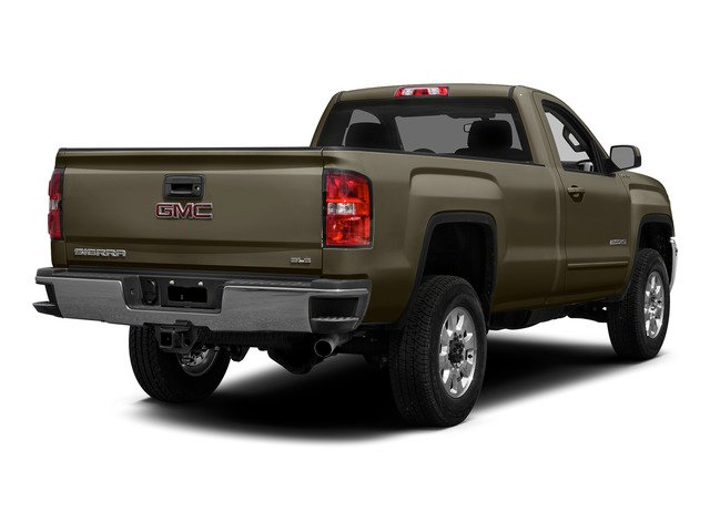 Bronze Alloy Metallic 2015 GMC Sierra 2500HD Pictures Sierra 2500HD Regular Cab SLE 4WD photos rear view