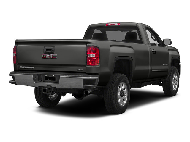 Iridium Metallic 2015 GMC Sierra 2500HD Pictures Sierra 2500HD Regular Cab SLE 4WD photos rear view