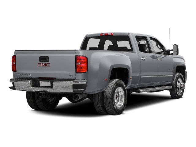 Quicksilver Metallic 2015 GMC Sierra 3500HD Pictures Sierra 3500HD Crew Cab Work Truck 2WD photos rear view