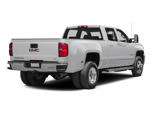 Summit White 2015 GMC Sierra 3500HD Pictures Sierra 3500HD Crew Cab Work Truck 2WD photos rear view