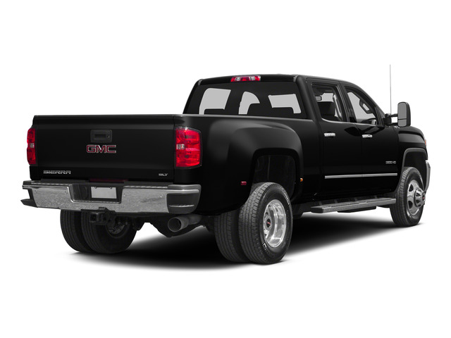 Onyx Black 2015 GMC Sierra 3500HD Pictures Sierra 3500HD Crew Cab Denali 2WD photos rear view