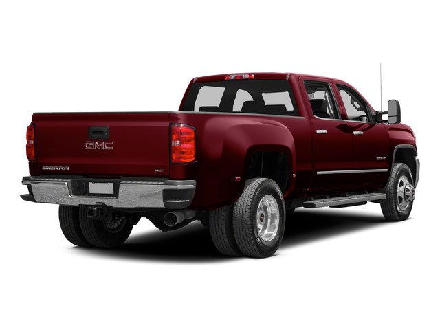 Sonoma Red Metallic 2015 GMC Sierra 3500HD Pictures Sierra 3500HD Crew Cab Denali 2WD photos rear view