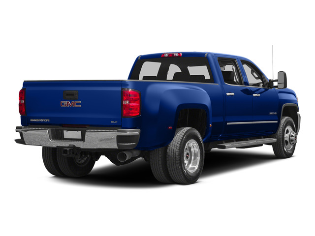 Cobalt Blue Metallic 2015 GMC Sierra 3500HD Pictures Sierra 3500HD Crew Cab Work Truck 2WD photos rear view