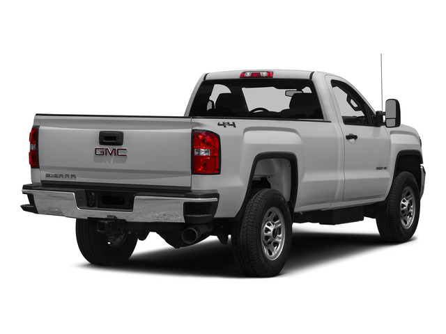 Summit White 2015 GMC Sierra 3500HD Pictures Sierra 3500HD Regular Cab Work Truck 4WD photos rear view