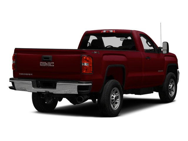 Sonoma Red Metallic 2015 GMC Sierra 3500HD Pictures Sierra 3500HD Regular Cab Work Truck 4WD photos rear view