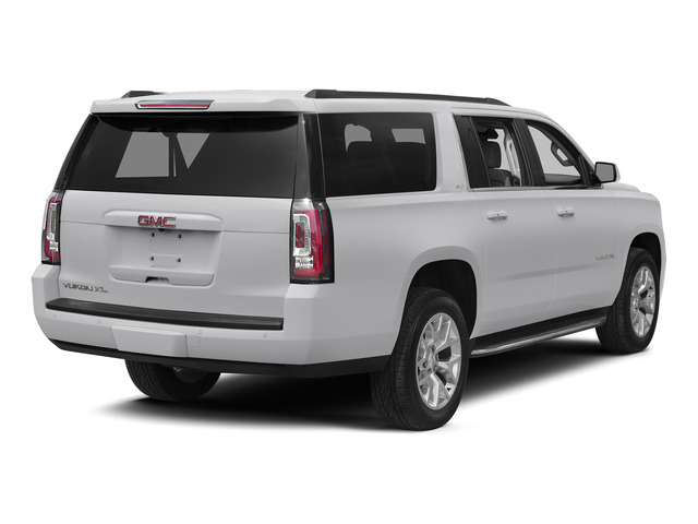 Summit White 2015 GMC Yukon XL Pictures Yukon XL Utility 4D Denali 4WD photos rear view