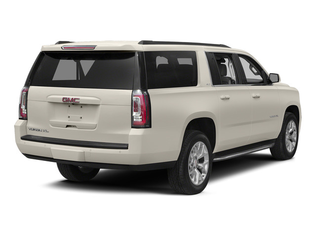 White Diamond Tricoat 2015 GMC Yukon XL Pictures Yukon XL Utility 4D Denali 4WD photos rear view