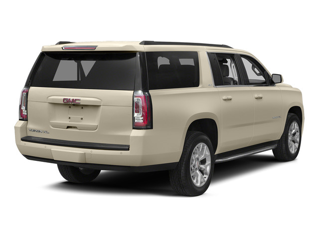 Champagne Silver Metallic 2015 GMC Yukon XL Pictures Yukon XL Utility 4D Denali 4WD photos rear view