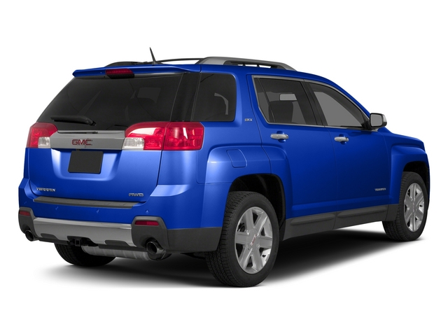 Dark Sapphire Blue Metallic 2015 GMC Terrain Pictures Terrain Utility 4D SLT AWD photos rear view