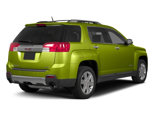 Cypress Green Metallic 2015 GMC Terrain Pictures Terrain Utility 4D SLT AWD photos rear view