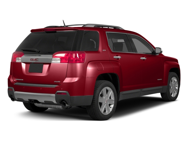 Crystal Red Tintcoat 2015 GMC Terrain Pictures Terrain Utility 4D SLT AWD photos rear view