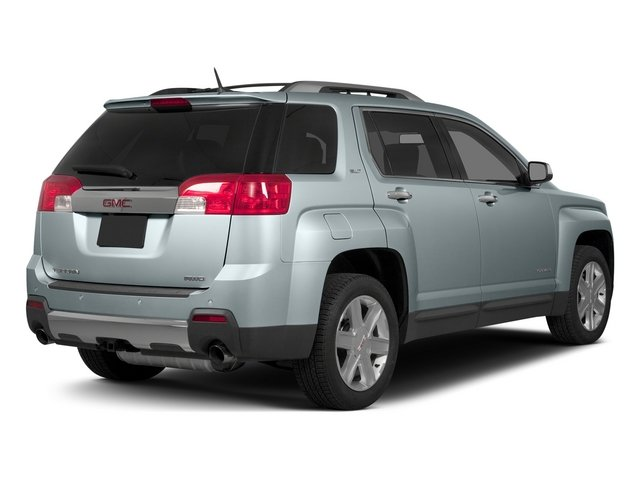 Silver Sky Metallic 2015 GMC Terrain Pictures Terrain Utility 4D SLT AWD photos rear view
