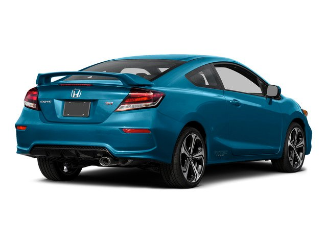 Dyno Blue Pearl 2015 Honda Civic Coupe Pictures Civic Coupe 2D Si I4 photos rear view
