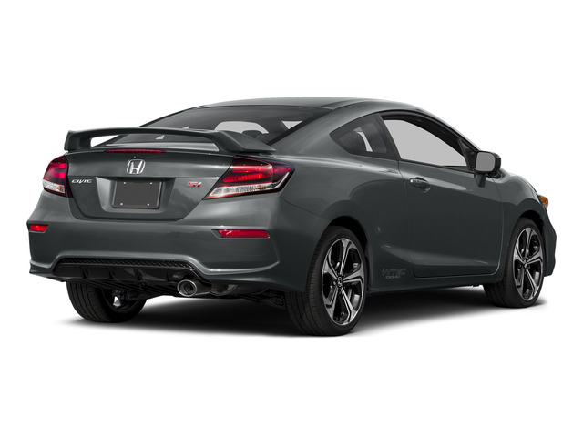 Modern Steel Metallic 2015 Honda Civic Coupe Pictures Civic Coupe 2D Si I4 photos rear view