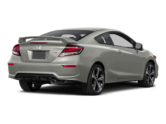 Alabaster Silver Metallic 2015 Honda Civic Coupe Pictures Civic Coupe 2D Si I4 photos rear view