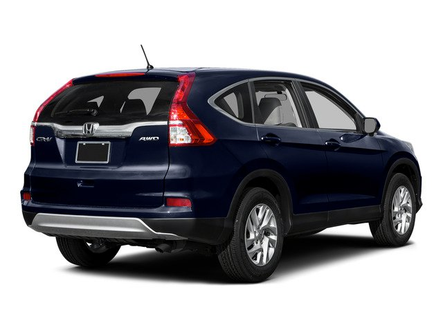 Obsidian Blue Pearl 2015 Honda CR-V Pictures CR-V Utility 4D EX AWD I4 photos rear view