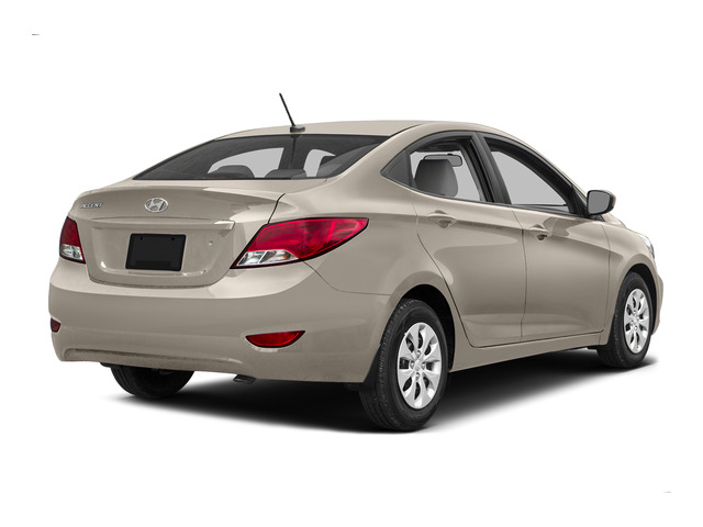 Misty Beige Metallic 2015 Hyundai Accent Pictures Accent Sedan 4D GLS I4 photos rear view