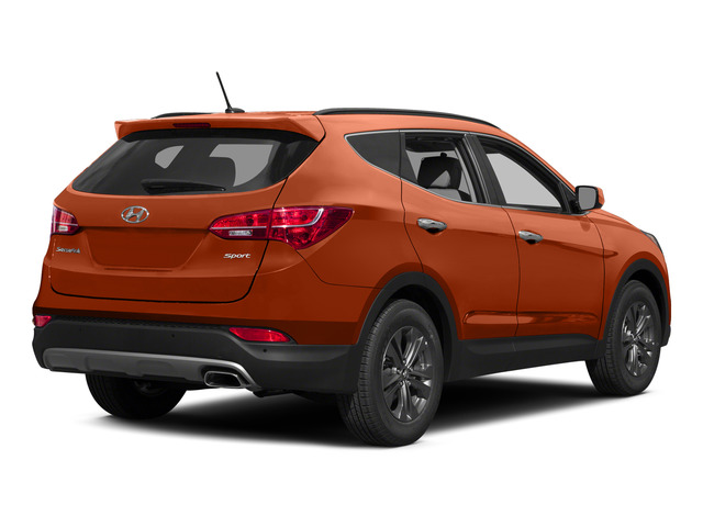 Canyon Copper 2015 Hyundai Santa Fe Sport Pictures Santa Fe Sport Utility 4D Sport 2WD photos rear view