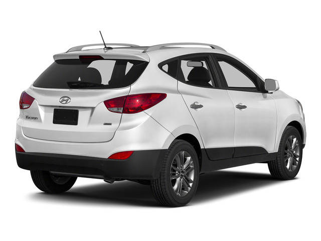 Winter White Solid 2015 Hyundai Tucson Pictures Tucson Utility 4D Limited AWD I4 photos rear view