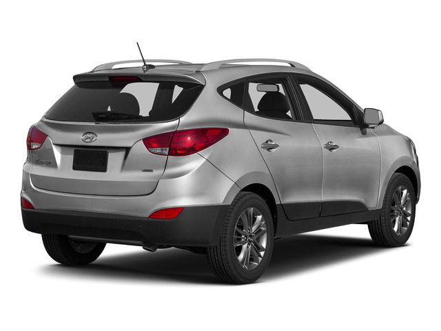 Diamond Silver Metallic 2015 Hyundai Tucson Pictures Tucson Utility 4D Limited AWD I4 photos rear view