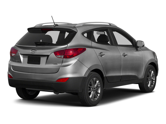 Graphite Gray Metallic 2015 Hyundai Tucson Pictures Tucson Utility 4D Limited AWD I4 photos rear view