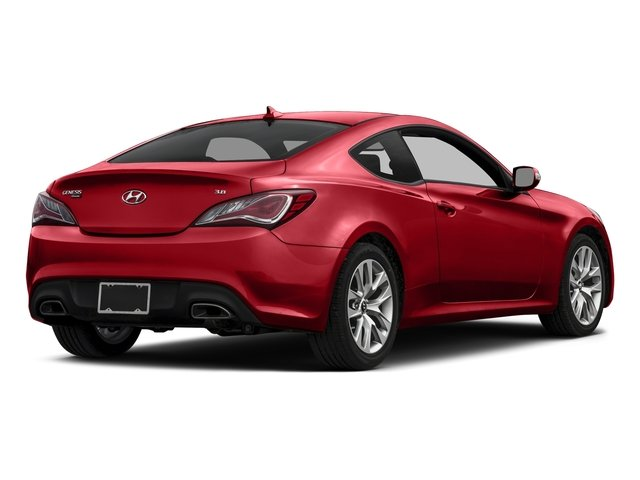 Tsukuba Red 2015 Hyundai Genesis Coupe Pictures Genesis Coupe 2D V6 photos rear view