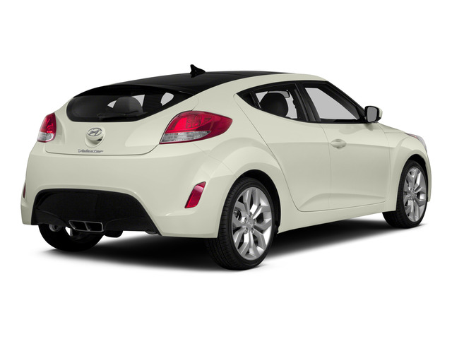 Century White 2015 Hyundai Veloster Pictures Veloster Coupe 3D I4 photos rear view