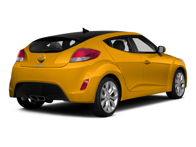 26.2 Yellow 2015 Hyundai Veloster Pictures Veloster Coupe 3D I4 photos rear view