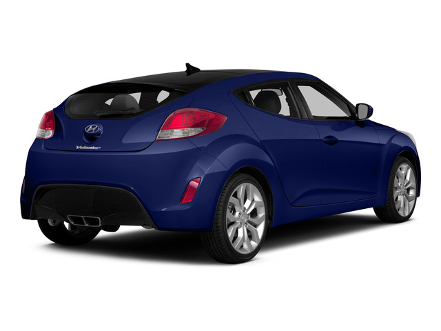 Marathon Blue Pearl 2015 Hyundai Veloster Pictures Veloster Coupe 3D I4 photos rear view