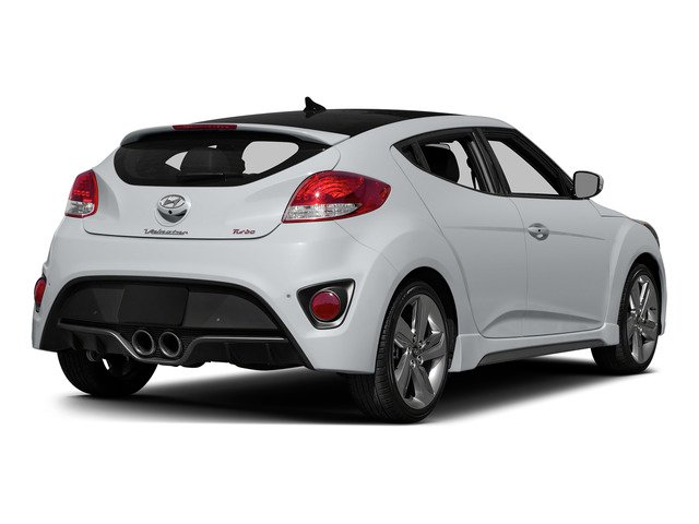 Elite White Pearl 2015 Hyundai Veloster Pictures Veloster Coupe 3D I4 Turbo photos rear view