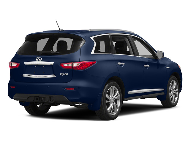 Hermosa Blue 2015 INFINITI QX60 Pictures QX60 Utility 4D Hybrid AWD I4 photos rear view