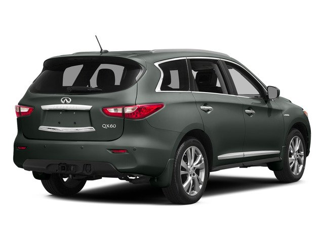 Emerald Graphite 2015 INFINITI QX60 Pictures QX60 Utility 4D Hybrid AWD I4 photos rear view