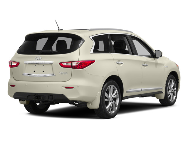Majestic White 2015 INFINITI QX60 Pictures QX60 Utility 4D Hybrid 2WD I4 photos rear view