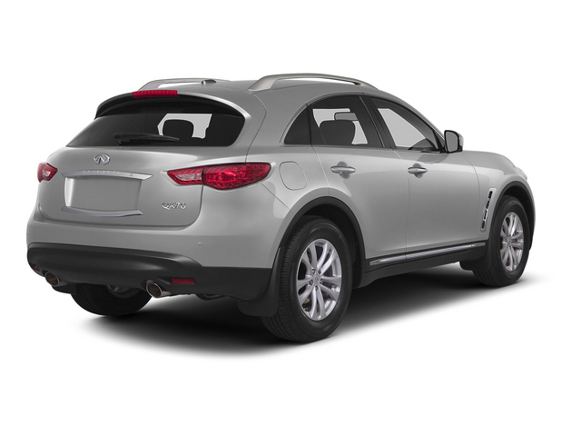 Liquid Platinum 2015 INFINITI QX70 Pictures QX70 Utility 4D AWD V6 photos rear view