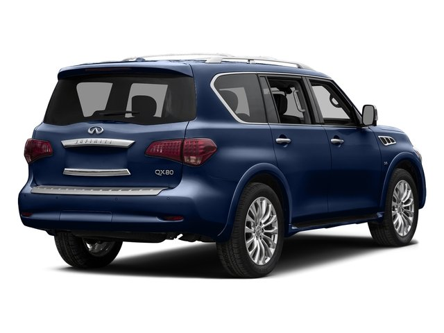 Hermosa Blue 2015 INFINITI QX80 Pictures QX80 Utility 4D 2WD V8 photos rear view