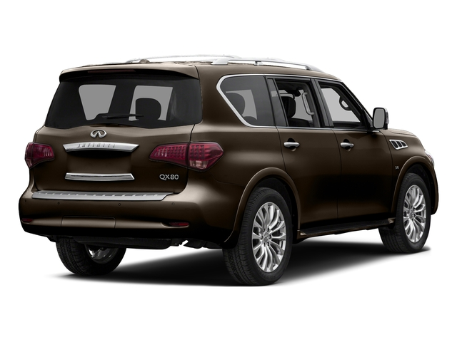Dakar Bronze 2015 INFINITI QX80 Pictures QX80 Utility 4D AWD V8 photos rear view