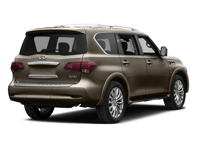 Mocha Almond 2015 INFINITI QX80 Pictures QX80 Utility 4D AWD V8 photos rear view