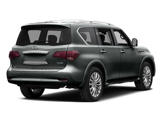 Graphite Shadow 2015 INFINITI QX80 Pictures QX80 Utility 4D 2WD V8 photos rear view