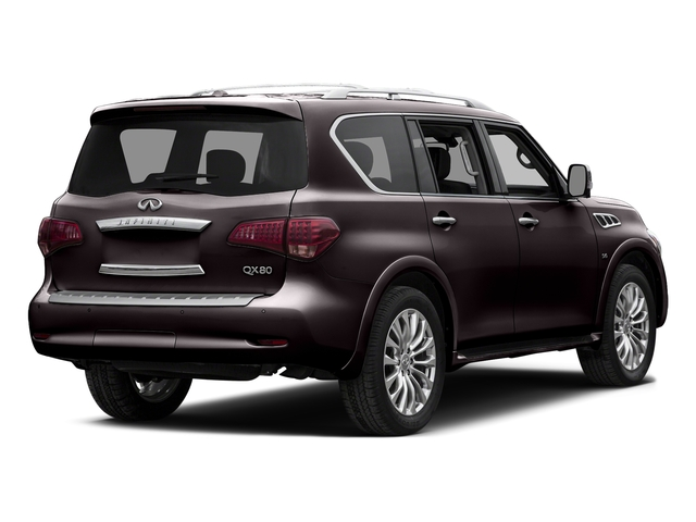 Dark Currant 2015 INFINITI QX80 Pictures QX80 Utility 4D 2WD V8 photos rear view