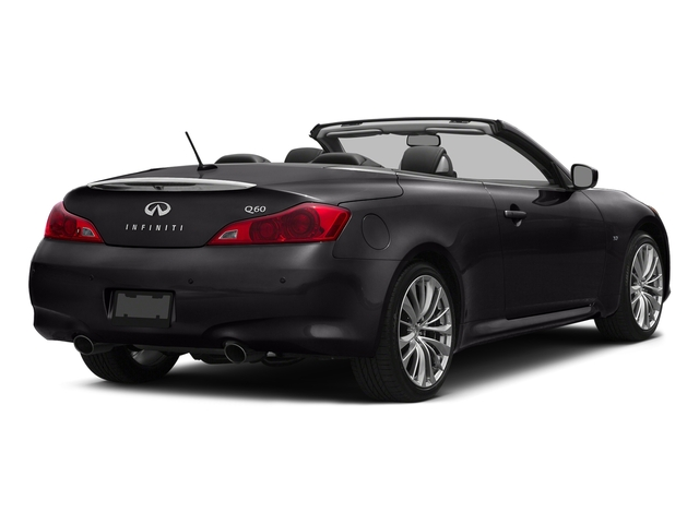Malbec Black 2015 INFINITI Q60 Convertible Pictures Q60 Convertible Convertible 2D Sport V6 photos rear view