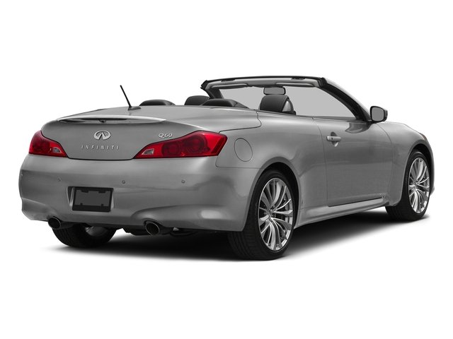 Liquid Platinum 2015 INFINITI Q60 Convertible Pictures Q60 Convertible Convertible 2D Sport V6 photos rear view
