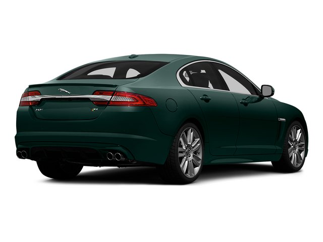 British Racing Green 2015 Jaguar XF Pictures XF Sedan 4D XFR V8 Supercharged Speed photos rear view