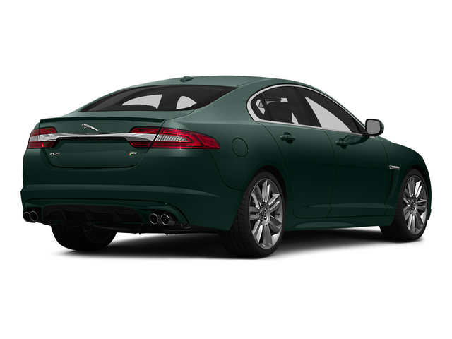 British Racing Green 2015 Jaguar XF Pictures XF Sedan 4D XFR V8 Supercharged photos rear view