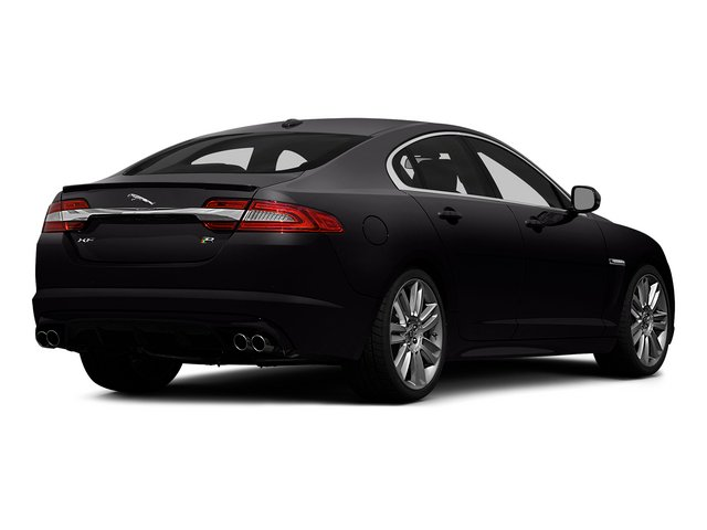 Ultimate Black Metallic 2015 Jaguar XF Pictures XF Sedan 4D XFR V8 Supercharged photos rear view