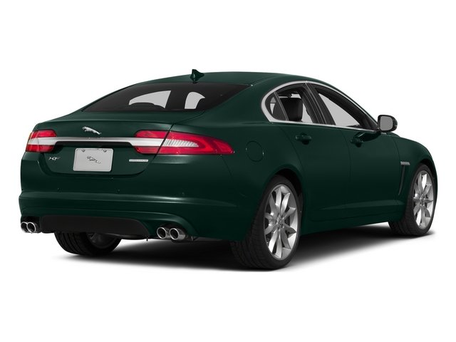 British Racing Green 2015 Jaguar XF Pictures XF Sedan 4D Portfolio V6 Supercharged photos rear view