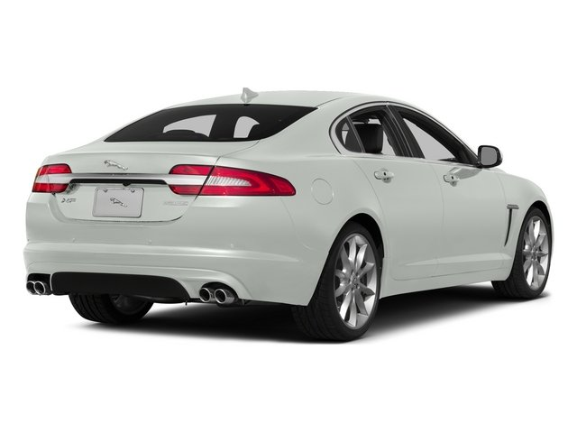 Polaris White 2015 Jaguar XF Pictures XF Sedan 4D Portfolio V6 Supercharged photos rear view