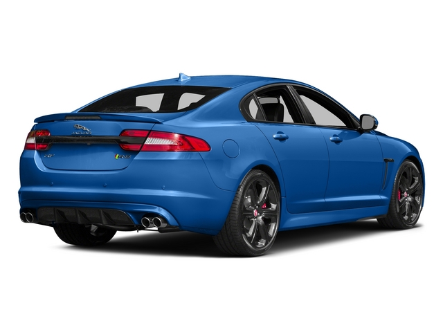 Ultra Blue 2015 Jaguar XF Pictures XF Sedan 4D XFR-S V8 Supercharged photos rear view