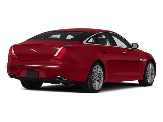 Italian Racing Red 2015 Jaguar XJ Pictures XJ Sedan 4D V6 photos rear view