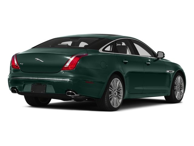 British Racing Green 2015 Jaguar XJ Pictures XJ Sedan 4D V6 photos rear view