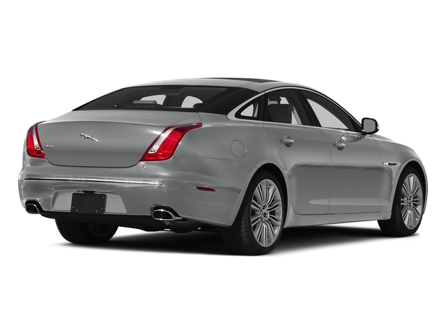 Rhodium Silver Metallic 2015 Jaguar XJ Pictures XJ Sedan 4D V6 photos rear view